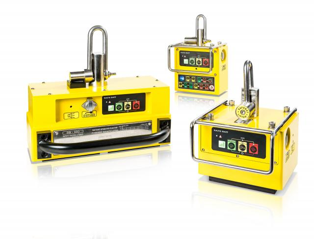 The Trio of EPM-Battery Lifting Magnets