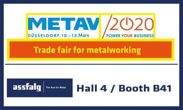 METAV Düsseldorf 2020 - Modern Metalworking