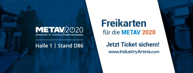 Freikarte für die METAV 2020