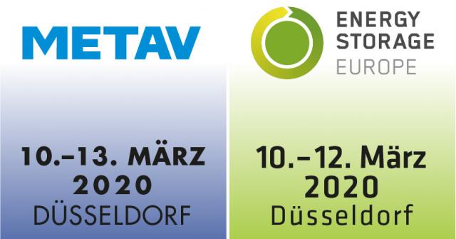 METAV 2020 & ENERGY STORAGE EUROPE: Energiespeicher senken Kosten und Emissionen