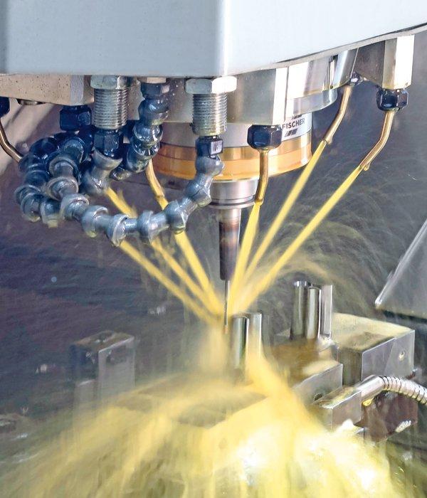 Sehen Sie auf der METAV 2020: Kombination Schruppen und HSC-Fräsen inkl. Hochglanzschlichten