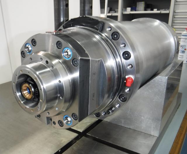 Spindelreparatur einer Kessler Motorspindel SMS 080 - BA 322 - Synchronmotor