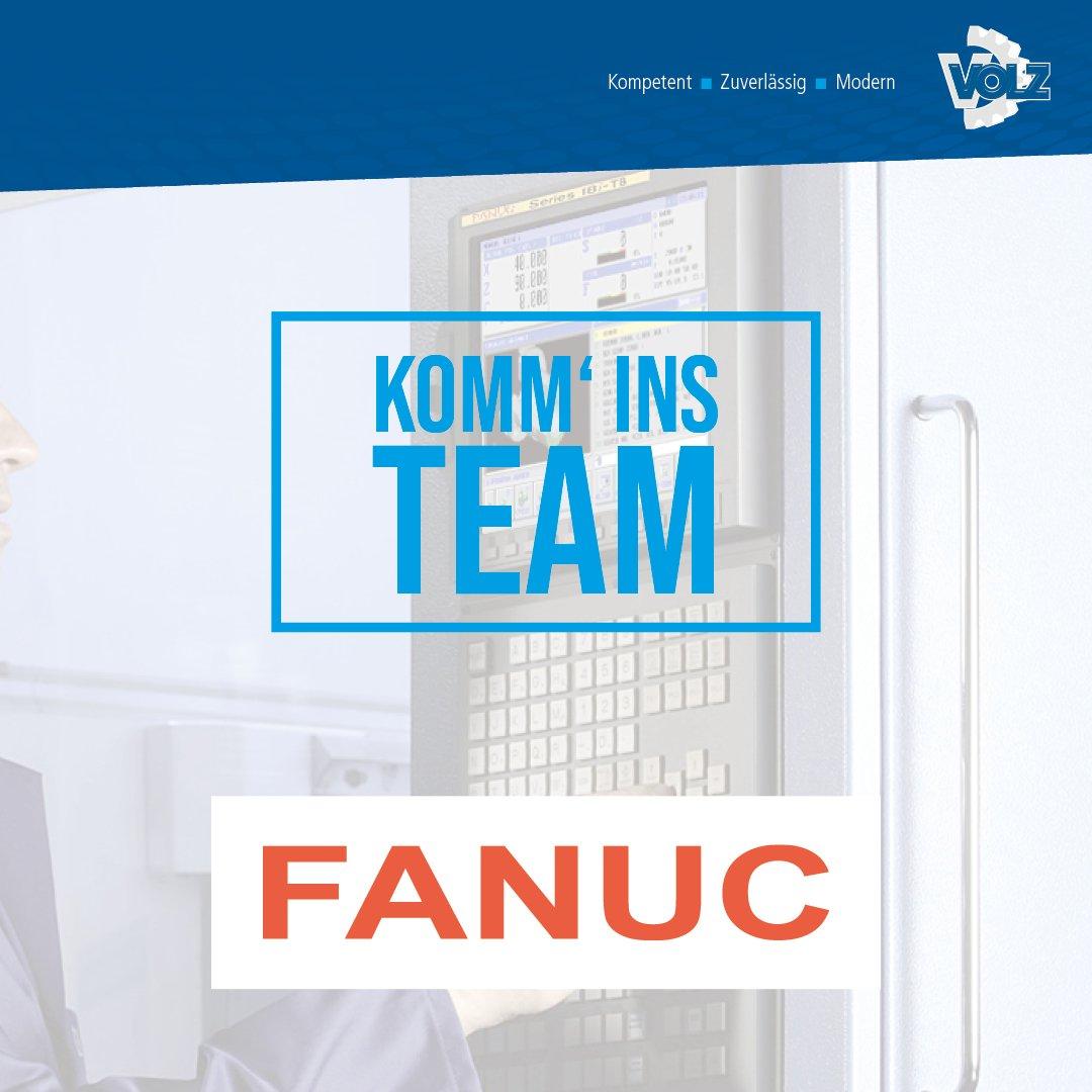 Neue Herausforderunge gesucht? – CNC-Servicetechniker  FANUC (m/w/d)
