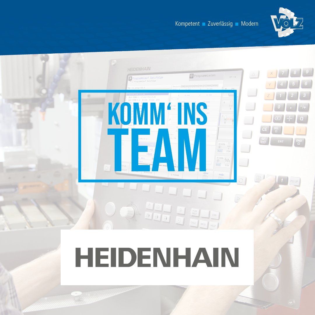 Wir suchen Sie! – CNC-Servicetechniker  HEIDENHAIN (m/w/d)