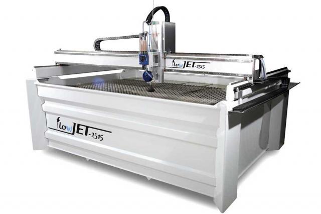 Wasserstrahlschneidanlage flowJET - NEU in unserem Maschinensortiment