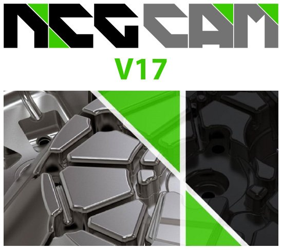 Neue NCG CAM Version 17 in neuem Look