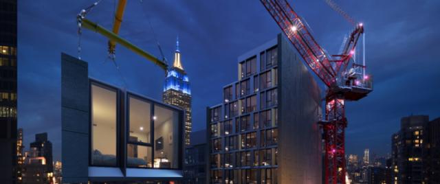 Skystone baut mit Autodesk Technologie höchstes modulares Hotel der Welt