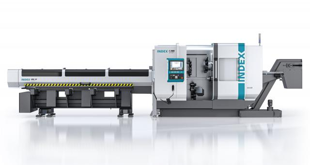 INDEX C200 tandem production turning machine