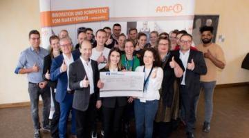 Nuevo récord de donaciones de los aprendices de AMF tras las ventas del mercado navideño