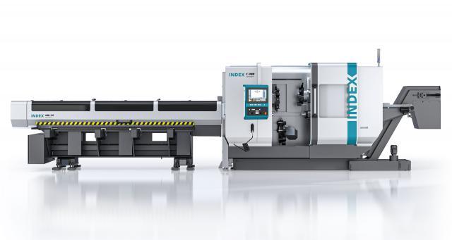 Der Produktionsdrehautomat INDEX C200 tandem