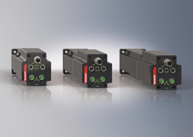 Integrated servo drive for automation outside of control cabinets