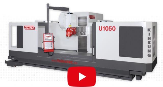 Flachgeführte CNC-Bettfräsmaschine für die schwere Zerspanung - KIHEUNG KNC U 1050-BT