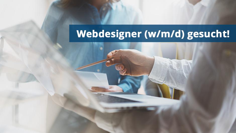 Webdesigner (w/m/d) gesucht