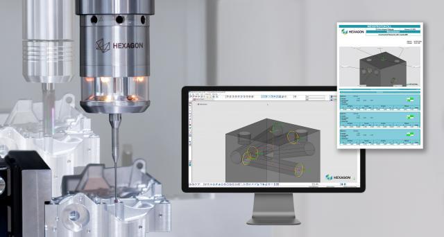 Neue Version von Hexagon's 3D Form Inspect Software