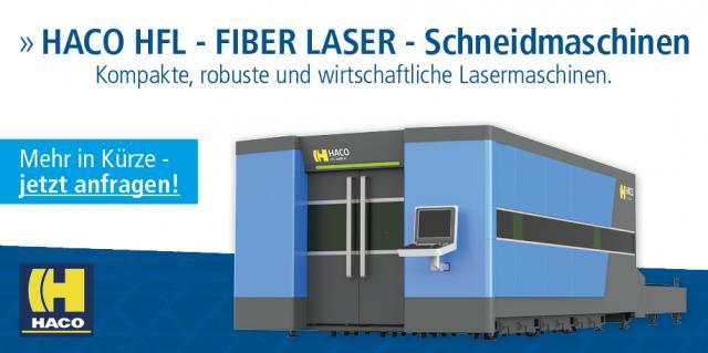 HACO HFL - FIBER LASER - Schneidmaschinen