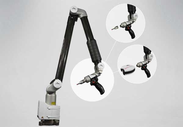 M3 Arm - der ideale Arm für die Messung von allen Teilen