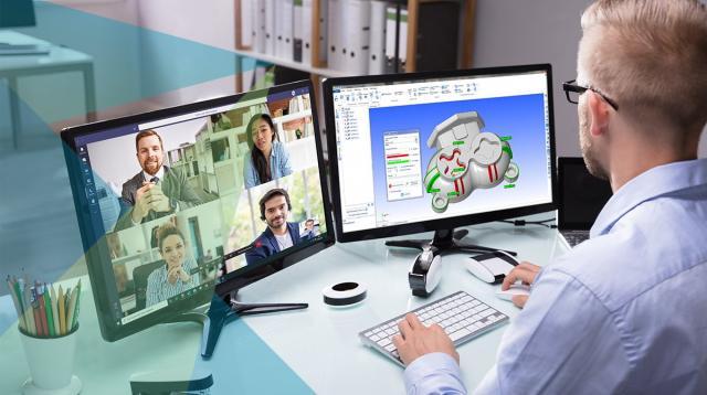Mit Hexagon Production Software bleiben Sie auch im Home Office produktiv!