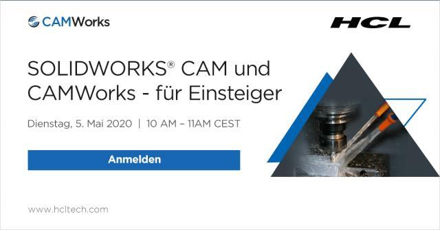 SOLIDWORKS® CAM und CAMWorks - für Einsteiger