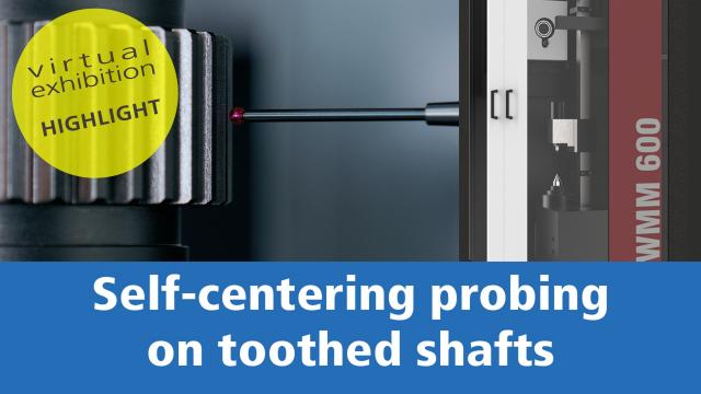 Virtual exhibition stand – MEASURING TOOTHED SHAFTS