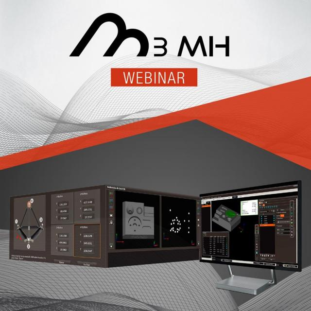 Innovalia Metrology launches a webinar program in Metrology: M3 and M3MH
