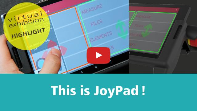 Virtual exhibition stand – JOYPAD instead of JOYSTICK