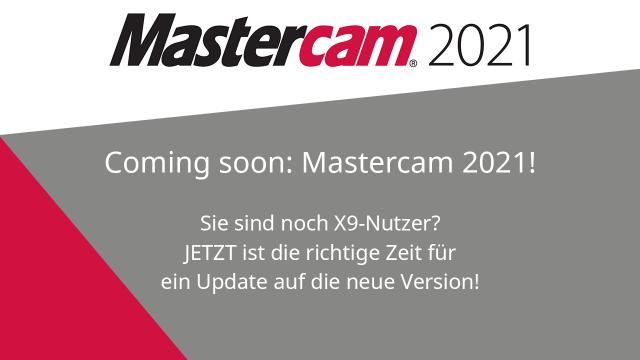 Coming soon: Mastercam 2021