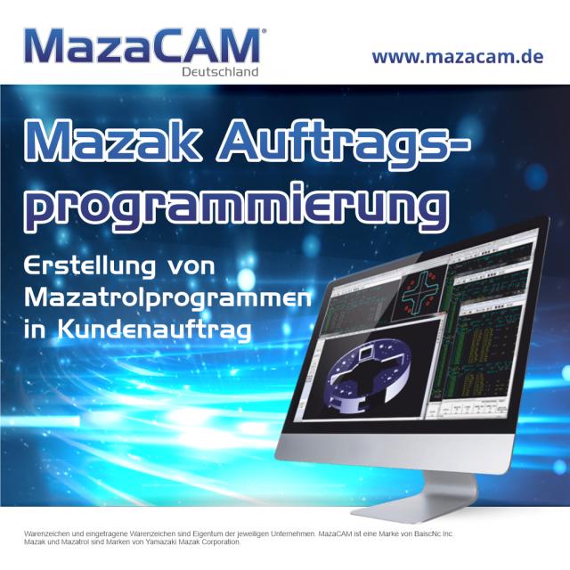 Auftragsprogrammierung für Mazak Maschinen