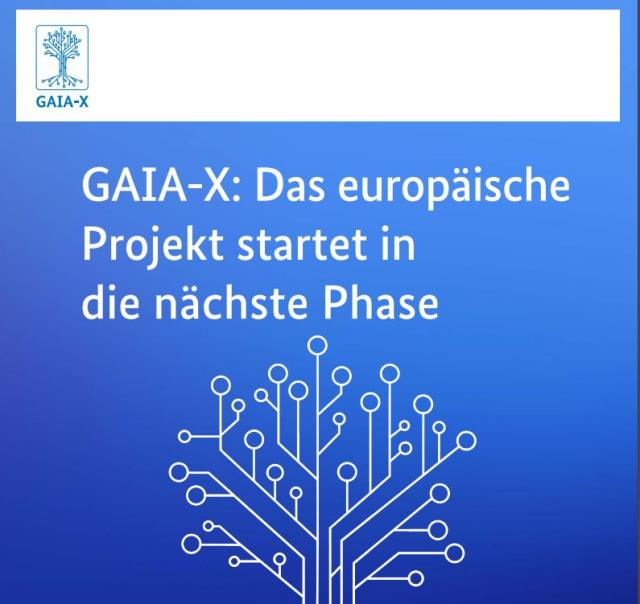 """Europäisches Daten-Ökosystem """"GAIAX"""" bewertet umati als relevante Initiative"""