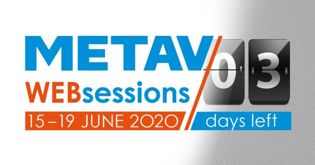 Countdown zu den METAV Web-sessions