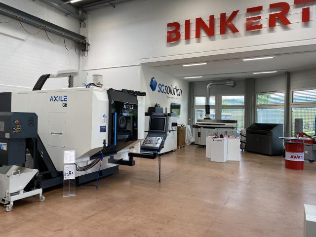 AXILE's Distributor: BINKERT in Switzerland