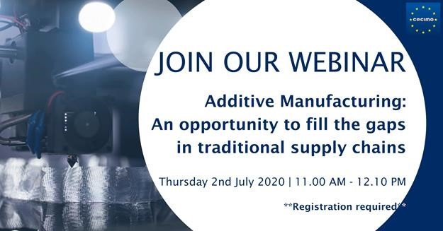 """""""Additive Manufacturing: An opportunity to fill the gaps in traditional supply chains"""""""