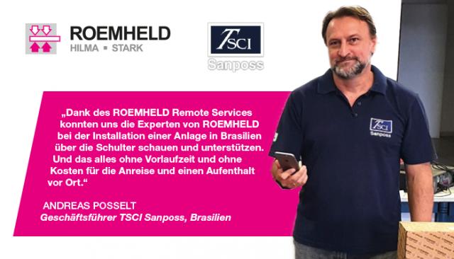 ROEMHELD Remote Service   Der virtuelle Blick über Ihre Schulter