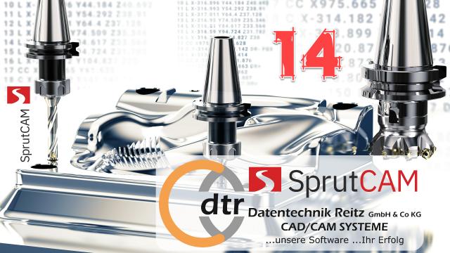 Jetzt zum kostenlosen Webinar anmelden: SprutCAM 14 – seit 25 Jahren CAD/CAM Lösungen