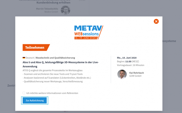 Web-Sessions verpasst? Kein Problem!