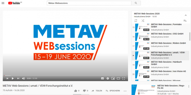 METAV web sessions ON DEMAND available for you!