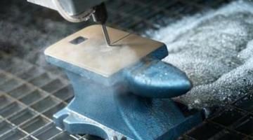 flowJET: Máquina de corte por chorro de agua