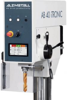 Markteinführung ALZMETALL iTRONIC Bohrmaschinen – mit TFT - LCD-Display mit Touch-Funktion