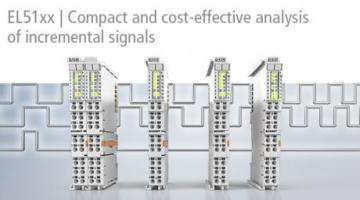 Four new, powerful EtherCAT Terminals complement the product range