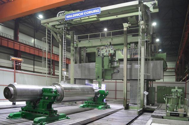 WALDRICH COBURG successfully rebuilds 39-year-old machine.