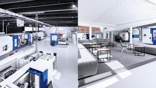 Neues EMCO Technologiezentrum in Wendlingen bei Stuttgart
