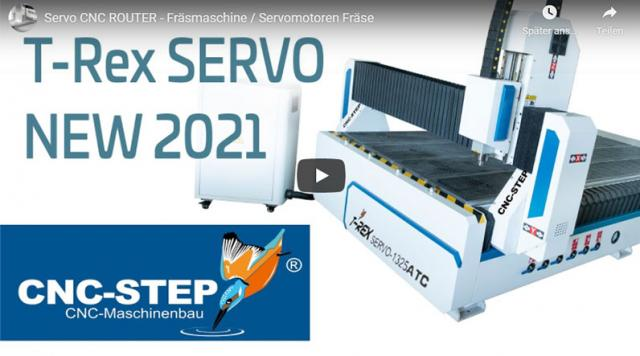 Estreno: La nueva serie T-Rex SERVO