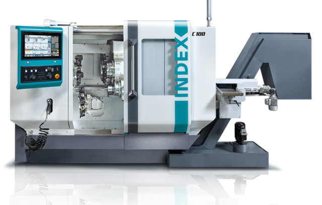 Automatic turning machine – for faster machining - INDEX C100