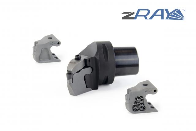 zRay: Werkzeugsystem mit auswechselbarer Kassette jetzt auch mit doppelter Kühlmittelzufuhr