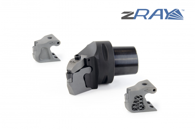 zRay: Tool system with exchangeable cassette now also with double coolant supply