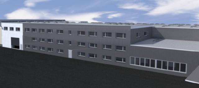 Erweiterungsbau wird realisiert - Montagefläche wird vergrössert