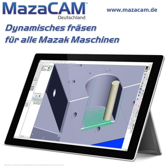 Dynamisches fräsen auf Mazak Maschinen