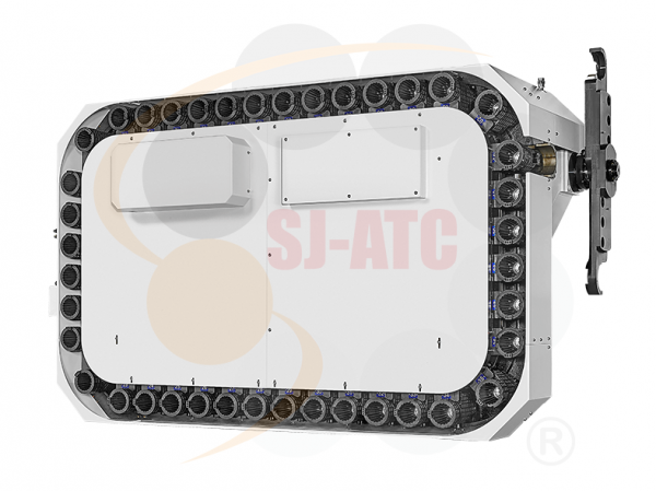 CFH - HORIZONTAL SQUARE CHAIN TYPE TOOL MAGAZINE