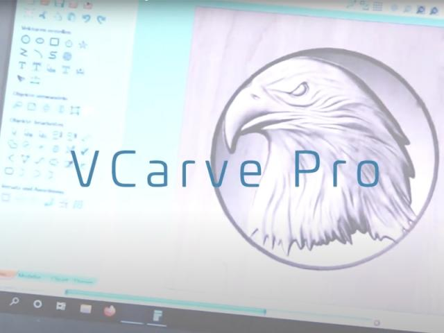 Milling 3d relief with VCarve Pro