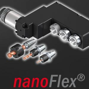nanoFlex® Quick Change System for Swiss Type