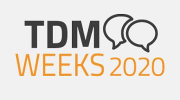 TDM Weeks 2020 – Innovation through Digital Tool Management